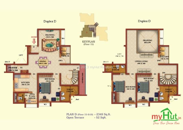 Floor plans for duplex apartments for 5br house plans